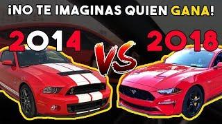 MUSTANG SHELBY GT500 VS MUSTANG GT    ALFREDO VALENZUELA
