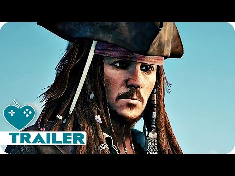 Kingdom Hearts 3 Pirates of the Caribbean E3 2018 Trailer (2019)