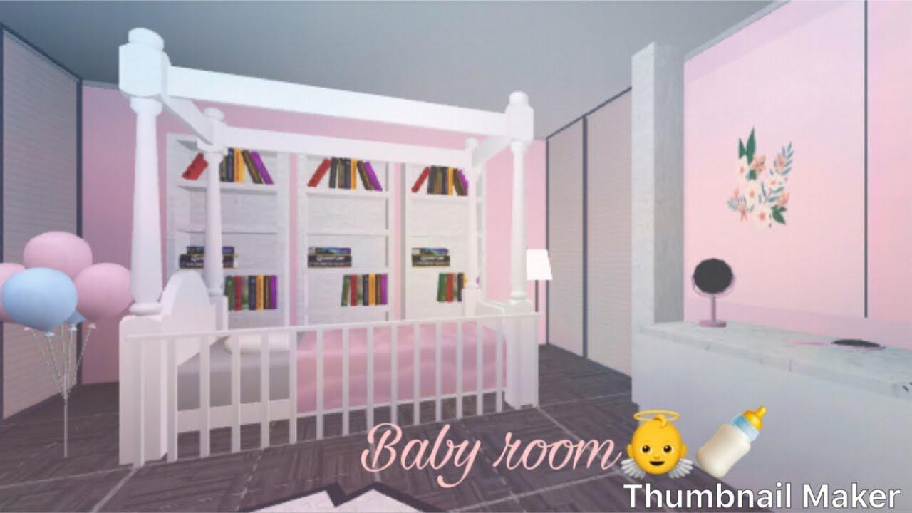 Bloxburg Baby Room 9k! (Speed Build) - YouTube