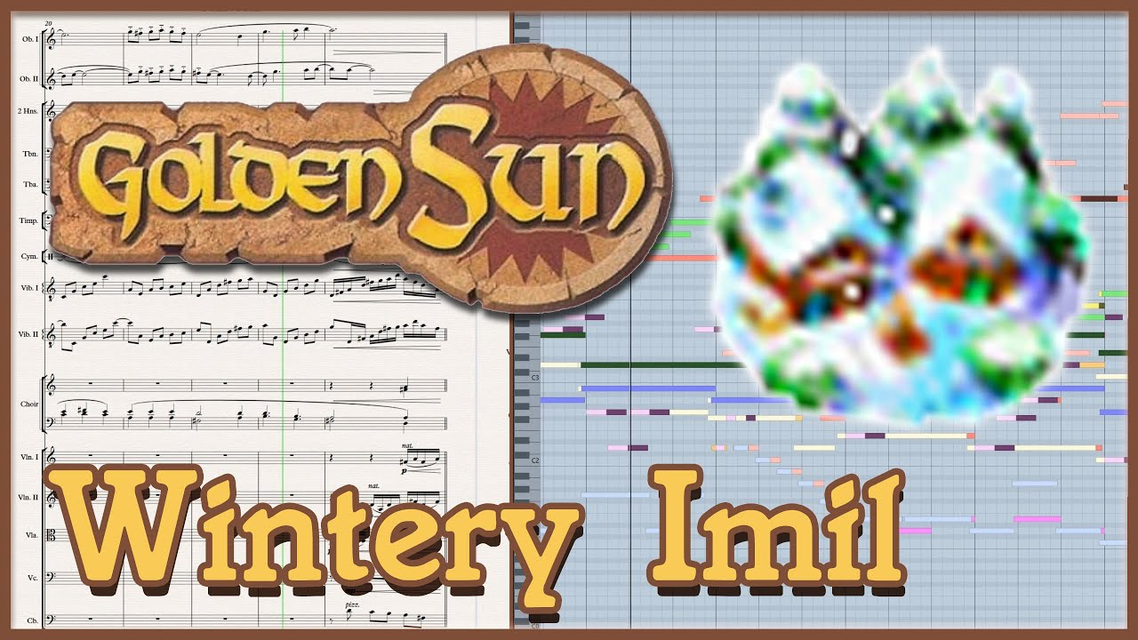 Wintery Imil Golden Sun Orchestral Arrangement Youtube