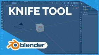 Knife Tool - Blender 2.80 Fundamentals