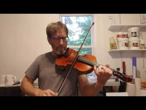 Rose in the Heather by a beginner on fiddle