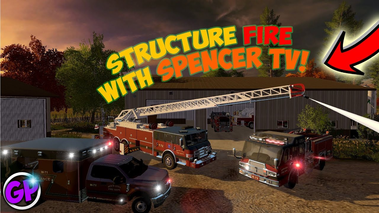 NEW FIRE MODS | SPENCER TV JOINS! | SHED FIRE | FARMING