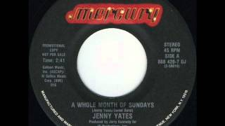 "Jenny Yates ""A Whole Month Of Sundays"""