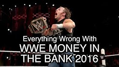 Episode #119: Everything Wrong With WWE Money In The Bank 2016