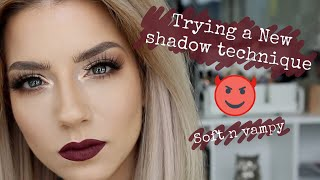 Trying a new shadow technique | Soft & Vampy Quickie Tutorial