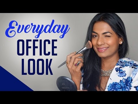 Easy Everyday Office Makeup tutorial l Simple Office Makeup for Indian Skin l Harshada Waghmare