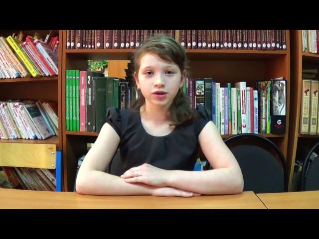 Изображение предпросмотра прочтения – АнгелинаАрхипова читает произведение «Мартышка и очки» И.А.Крылова
