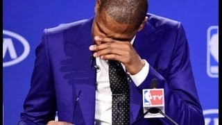 Repeat youtube video Kevin Durant MVP Speech Highlights