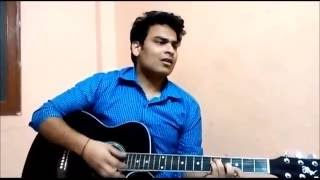 Teri baaten - guitar cover by Gaurav Verma