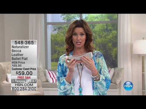 HSN | HSN Today: Naturalizer Footwear 05.19.2017 - 08 AM