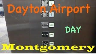 Montgomery hydraulic elevator @ Dayton International Airport (DAY)