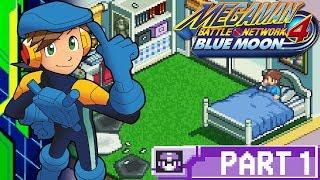 Let's Play MegaMan Battle Network 4: Blue Moon - Part 1