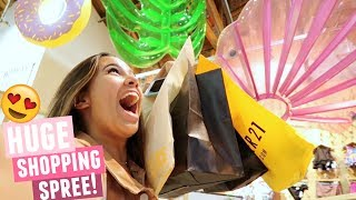 COME SHOP WITH ME! Huge Brandy Melville, Forever 21, Urban Outfitters, And More Shopping Spree