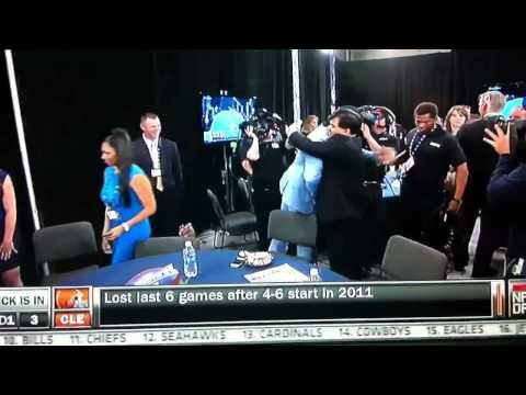 NFL Draft 2012: Washington Redskins select Robert Griffin I
