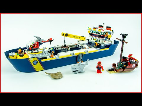 LEGO CITY 60266 Ocean Exploration Ship Speed Build for Colle