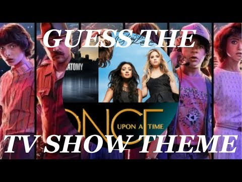 GUESS The TV SHOW THEME SONG | SingSongs |