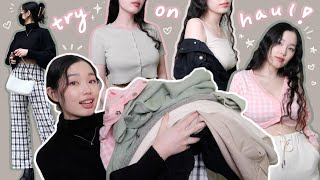 spicing up my wardrobe with cute clothes for spring (princess polly try-on haul)