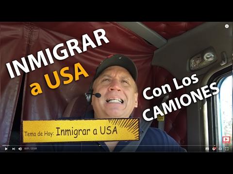 INMIGRAR A USA con Los Camiones | Meteoro Trucker