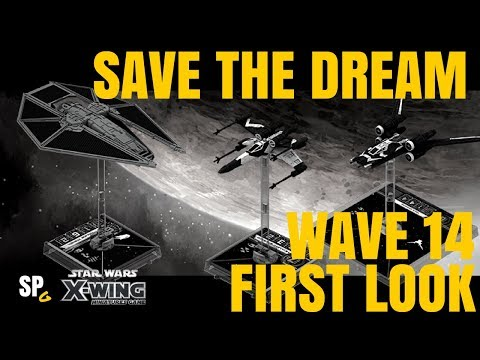 FIRST LOOK - WAVE 14 - Saw's Renegades & TIE Reaper - X-Wing Miniatures - SPG