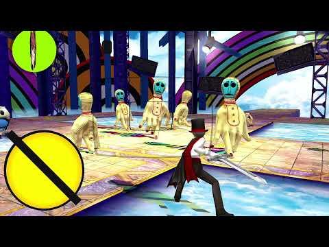 Persona 4 Golden - Heaven Gameplay (Triple Battle) |