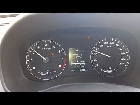 ошибка акпп Hyundai Creta