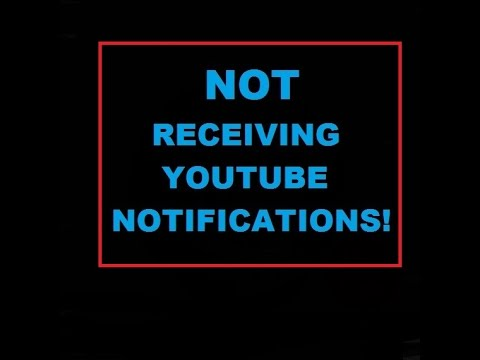 NOT RECEIVING YOUTUBE NOTIFICATIONS When  Channels Post New Videos (techi Tips)