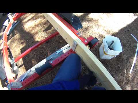 Harbor Freight Boat Trailer Upgrades | Adding a Winch | Bunk Mods