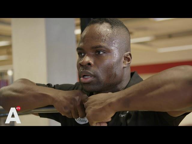 Ghanese Amsterdammer Akwasi Frimpong geplaatst voor Olympische Spelen
