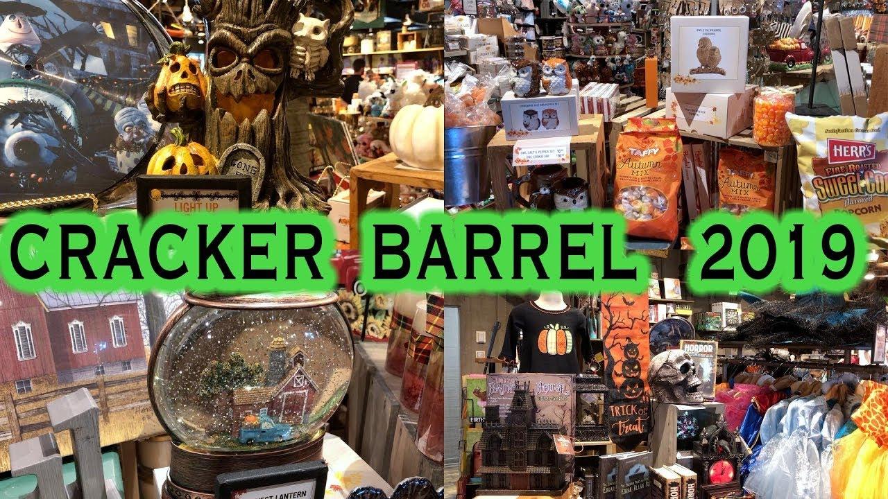 Cracker Barrel Fall And Halloween Decorations 2019