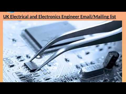 UK Electrical and Electronics Engineer Email Maili