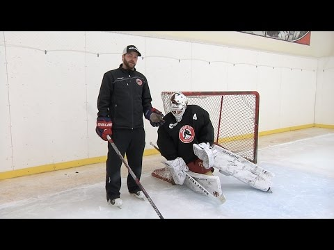 Post Integration || Pure Goalie Drill powered by Stop It Goaltending