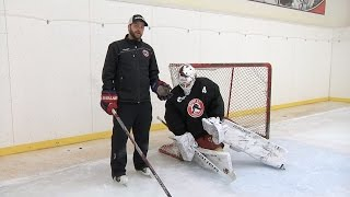 Post Integration    Pure Goalie Drill powered by Stop It Goaltending