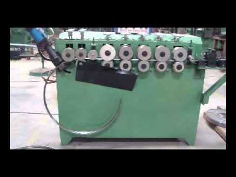 Steel Drum Locking Ring Machine