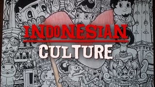 How to draw a doodle | Indonesian Culture