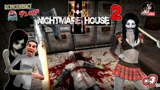 NIGHTMARE HOUSE 2 - #3  La Fantasma Calienta-Braguetas