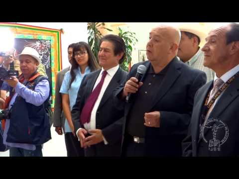 """Inauguración de la exposición """"Líneas con vida"""" del Dr. Miguel Ángel González Alfaro"""