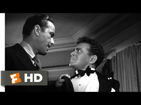 When You're Slapped, You'll Take It & Like It - The Maltese Falcon (3/10) Movie CLIP (1941) HD