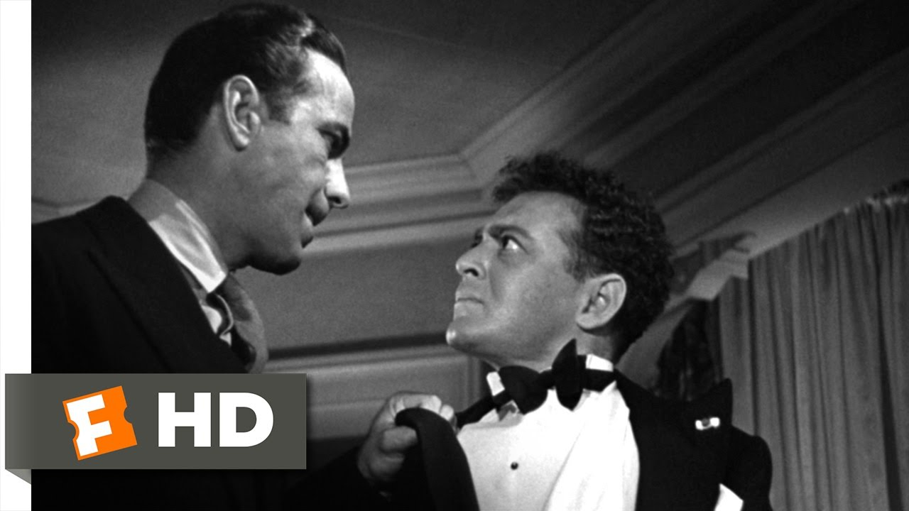 When You're Slapped, You'll Take It & Like It - The Maltese Falcon (3/10) Movie CLIP (