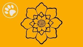 Мехенди Тату. Рисуем цветок и розу хной!
