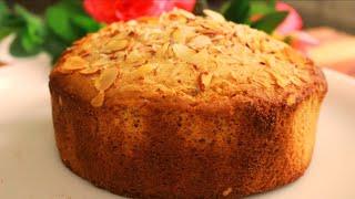 गेहूं के आटे से, Soft और Spongy केक बनाने का सबसे आसान तरीका । Eggless whole wheat sponge cake ।