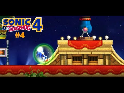 Sonic The Hedgehog 4 Episode 1 #4 These Cannons Are Annoying |