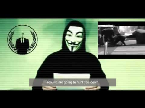 Anonymous to ISIS: 'War is unleashed' - 16/11/2015