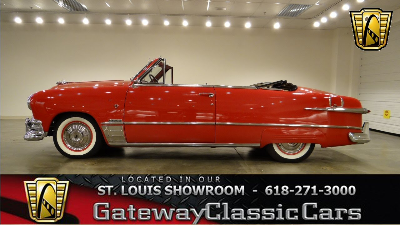 1951 ford convertible gateway classic cars st louis 6229 youtube. Black Bedroom Furniture Sets. Home Design Ideas