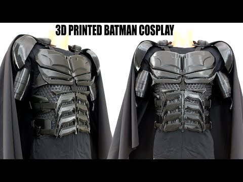 Batman Cosplay Suit #2 with Ninjaflex | James Bruton