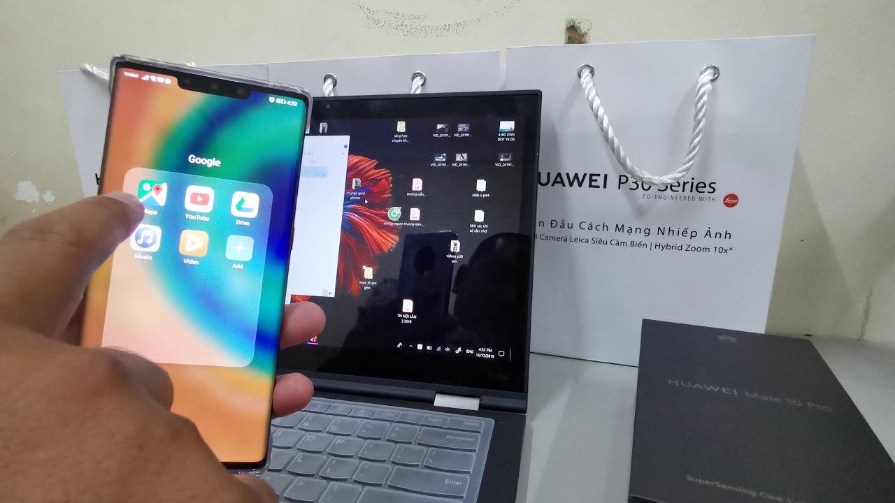 របៀបដំឡើង Google Mobile Services នៅលើទូរស័ព្ទ Huawei Mate 30 Pro (Clip 1) - YouTube