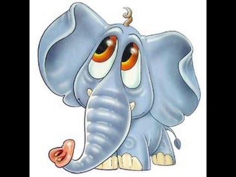 Dessin anim d 39 l phant youtube - Dessins d elephants ...