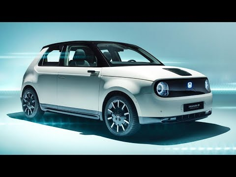 FIRST LOOK: Honda E Prototype | Top Gear