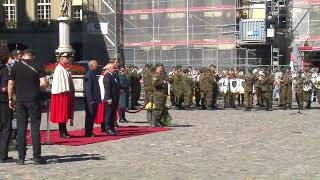 Ceremonial welcome of President Kovind at Berne, Switzerland (Video)