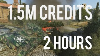 1.5 Million Credits in 2 hours